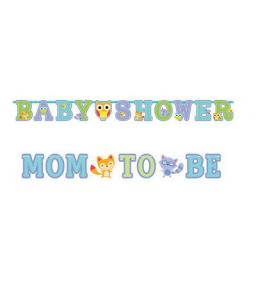 تعليقة baby shower و mom to be