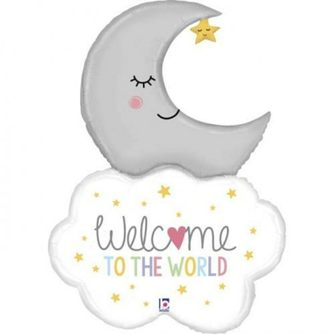بالون welcome to the world
